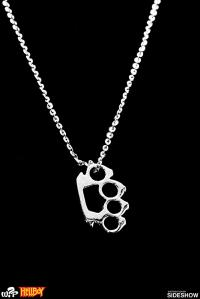 Gallery Image of Silver Knuckles Necklace Jewelry