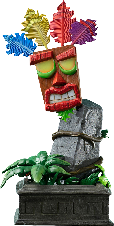 First 4 Figures Mini Aku Aku Mask Statue