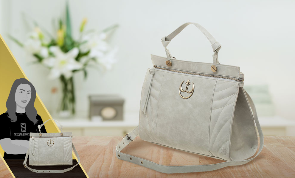Gallery Feature Image of Princess Leia Shoulder Bag Apparel - Click to open image gallery