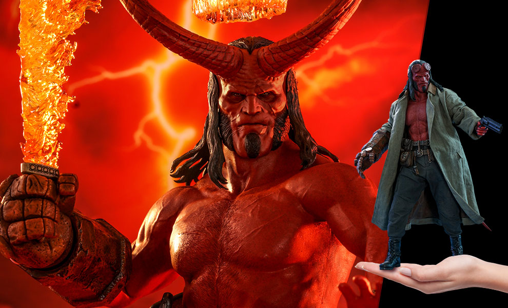 Gallery Feature Image of Hellboy Sixth Scale Figure - Click to open image gallery