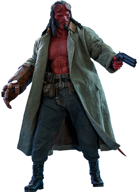 Hot Toys Hellboy Sixth Scale Figure