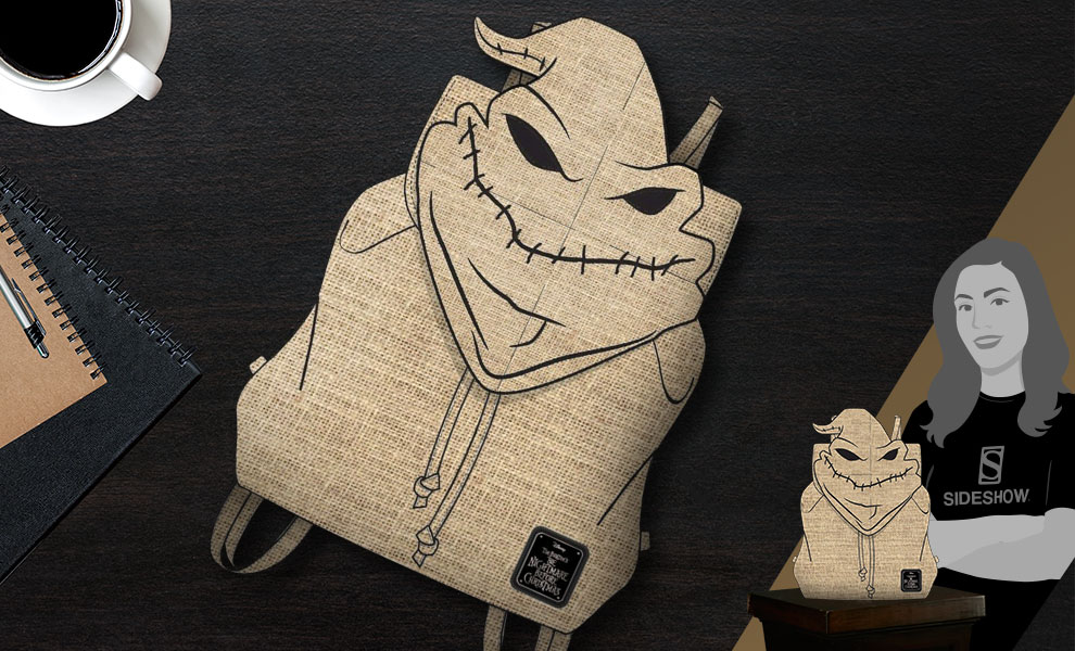 Gallery Feature Image of Oogie Boogie Backpack Apparel - Click to open image gallery