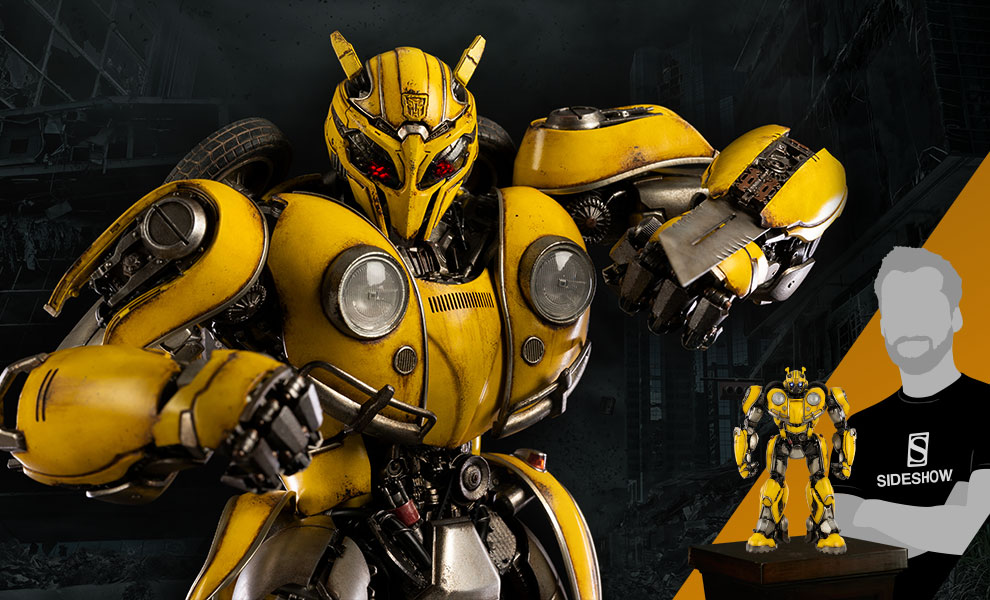 Gallery Feature Image of Bumblebee Premium Scale Collectible Figure - Click to open image gallery