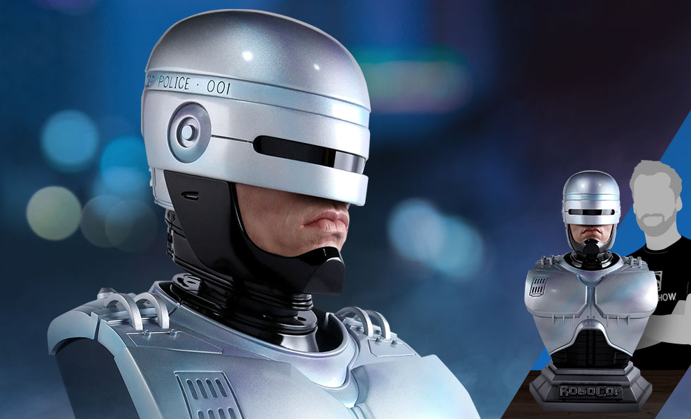 Gallery Feature Image of RoboCop Life-Size Bust - Click to open image gallery