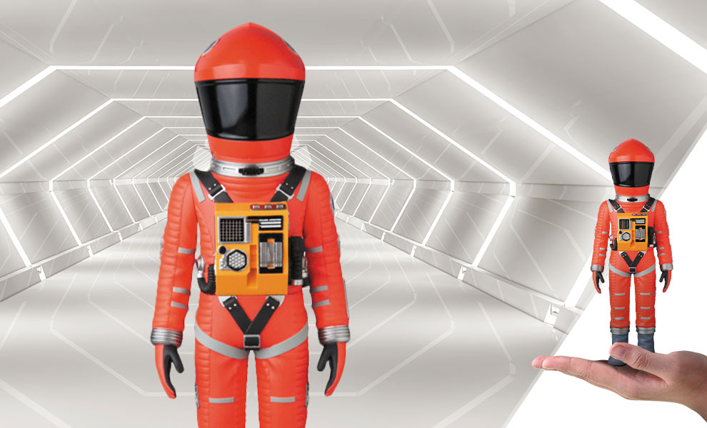 Gallery Feature Image of Space Suit Vinyl Collectible - Click to open image gallery