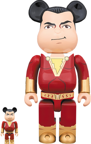 Be@rbrick Shazam! 100% and 400% Collectible Set