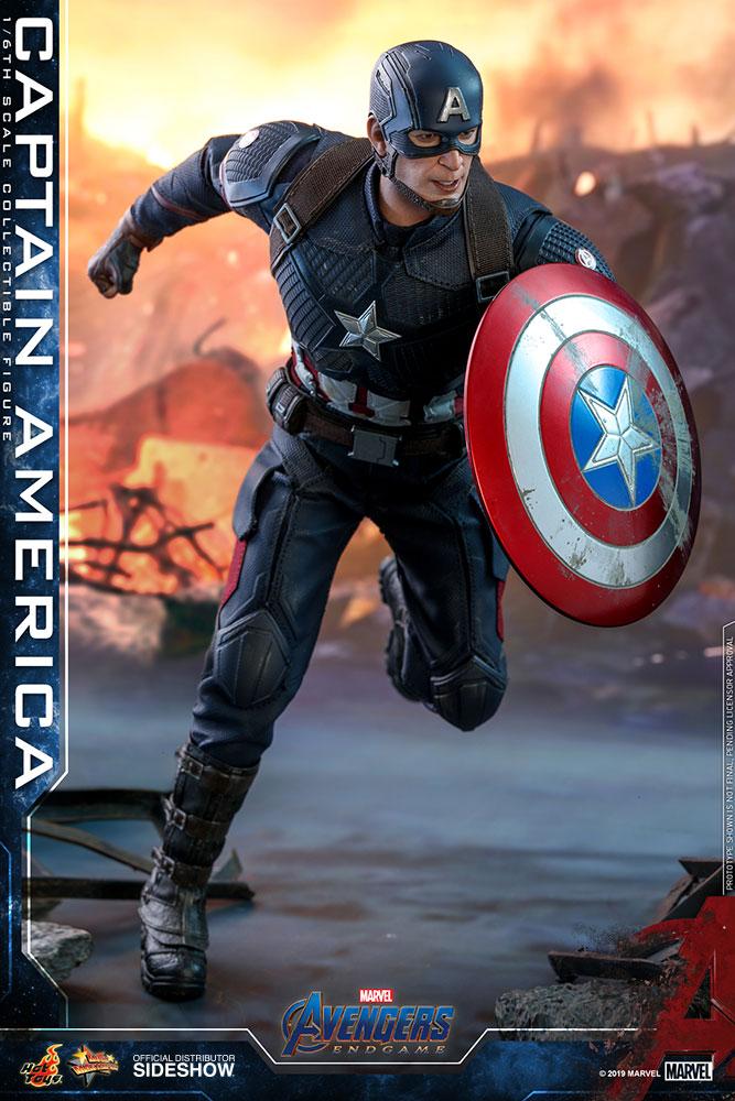 In magazzino 1//6 SCALA Chris Evan CAPITAN AMERICA 4.0 testa per Hot Toys HW//o neck