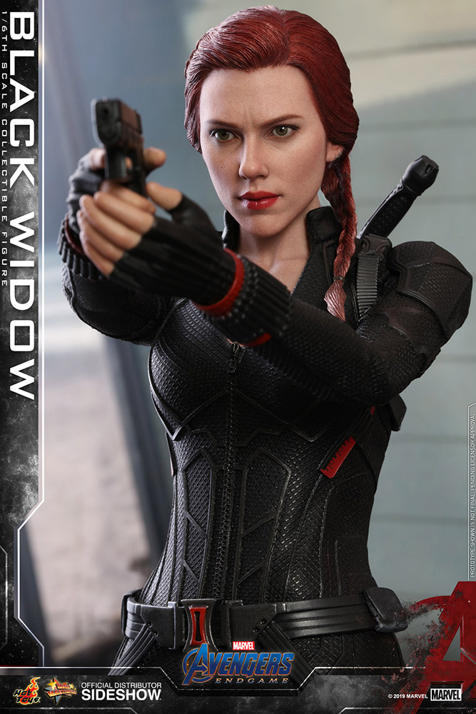 Check out the SIDESHOW Black Widow action figure.