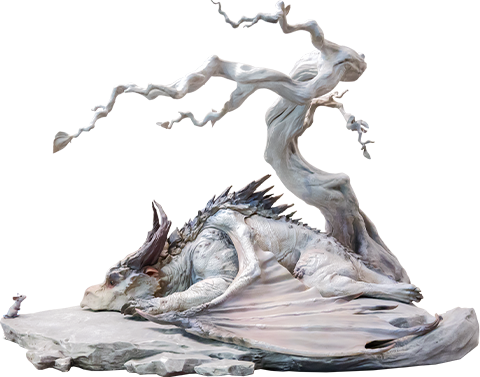 Infinity Studio Encounter Statue