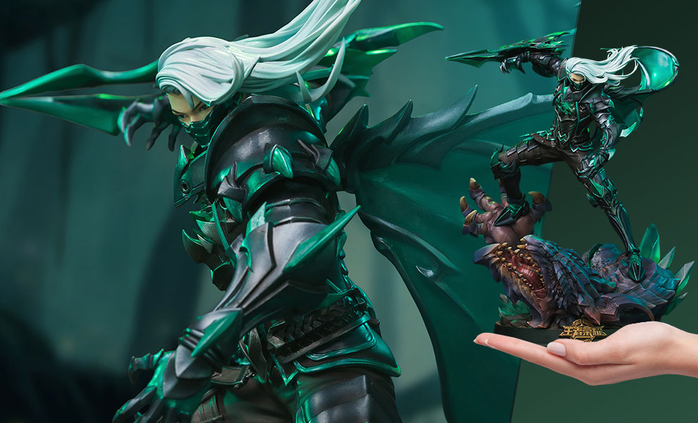 Gallery Feature Image of Shadow Hunter King of Lan Ling (Deluxe Edition) Statue - Click to open image gallery