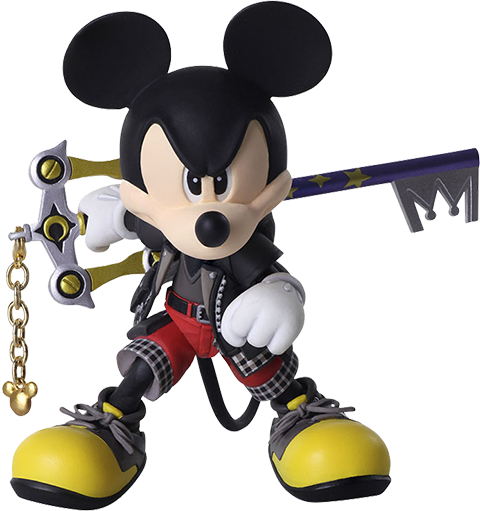 Square Enix King Mickey Collectible Figure
