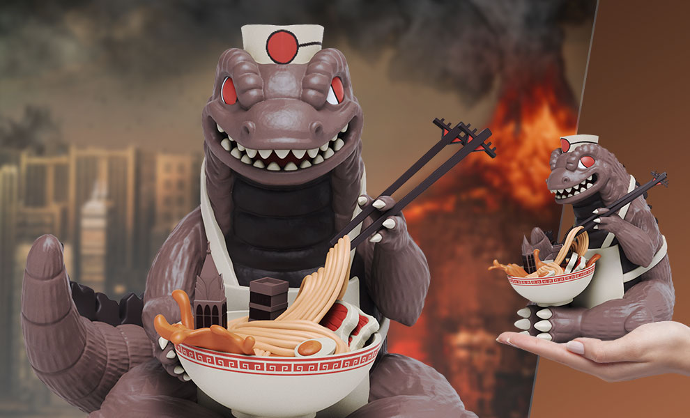 Gallery Feature Image of Kaiju's Ramen Vinyl Collectible - Click to open image gallery