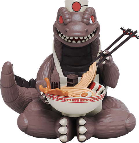 Mighty Jaxx Kaiju's Ramen Vinyl Collectible