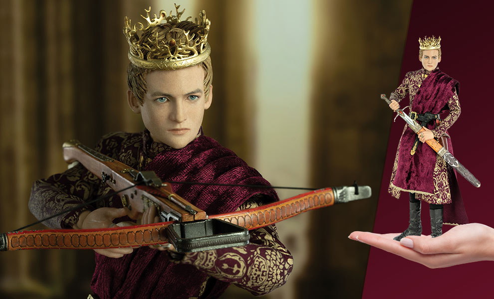 Gallery Feature Image of King Joffrey Baratheon  (Deluxe Version) Sixth Scale Figure - Click to open image gallery