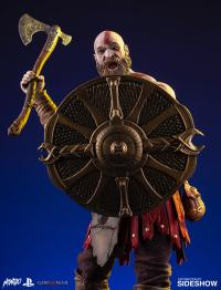 Gallery Image of Kratos Deluxe Sixth Scale Figure