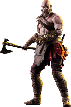 Kratos Deluxe Sixth Scale Figure