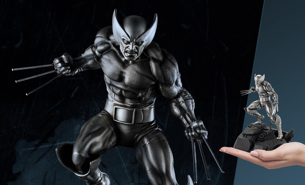 Gallery Feature Image of Wolverine Pewter Collectible - Click to open image gallery
