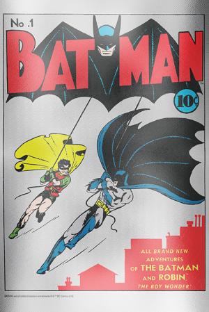 Batman #1 Silver Foil Silver Collectible