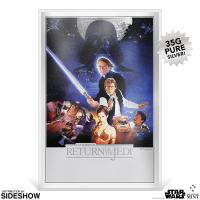 Gallery Image of Star Wars: Return of the Jedi Silver Foil Silver Collectible