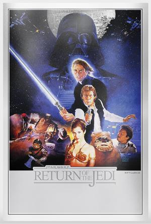 Star Wars: Return of the Jedi Silver Foil Silver Collectible