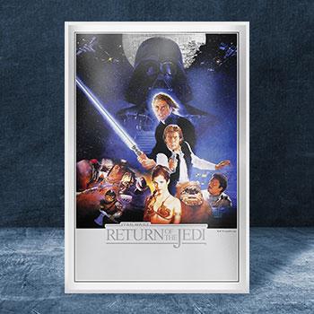 Star Wars: Return of the Jedi Silver Foil Silver Collectible