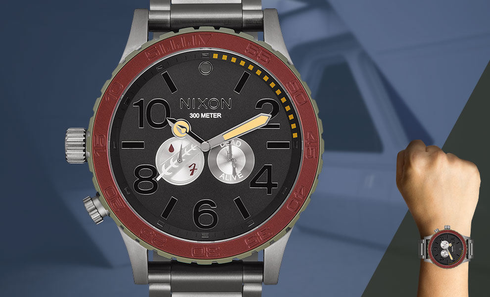 Gallery Feature Image of Boba Fett Red and Gray 51-30 Watch Jewelry - Click to open image gallery