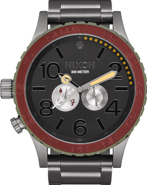 Boba Fett Red and Gray 51-30 Watch Jewelry