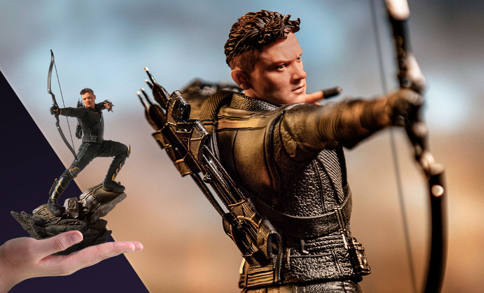 Gallery Feature Image of Hawkeye Statue - Click to open image gallery