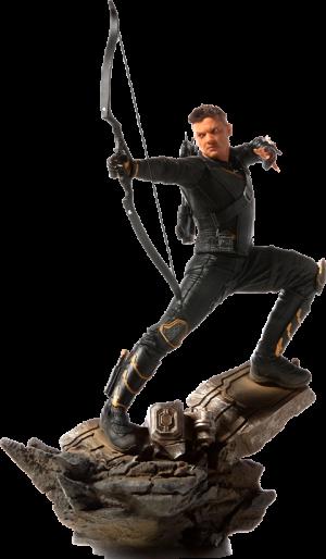 Hawkeye Statue