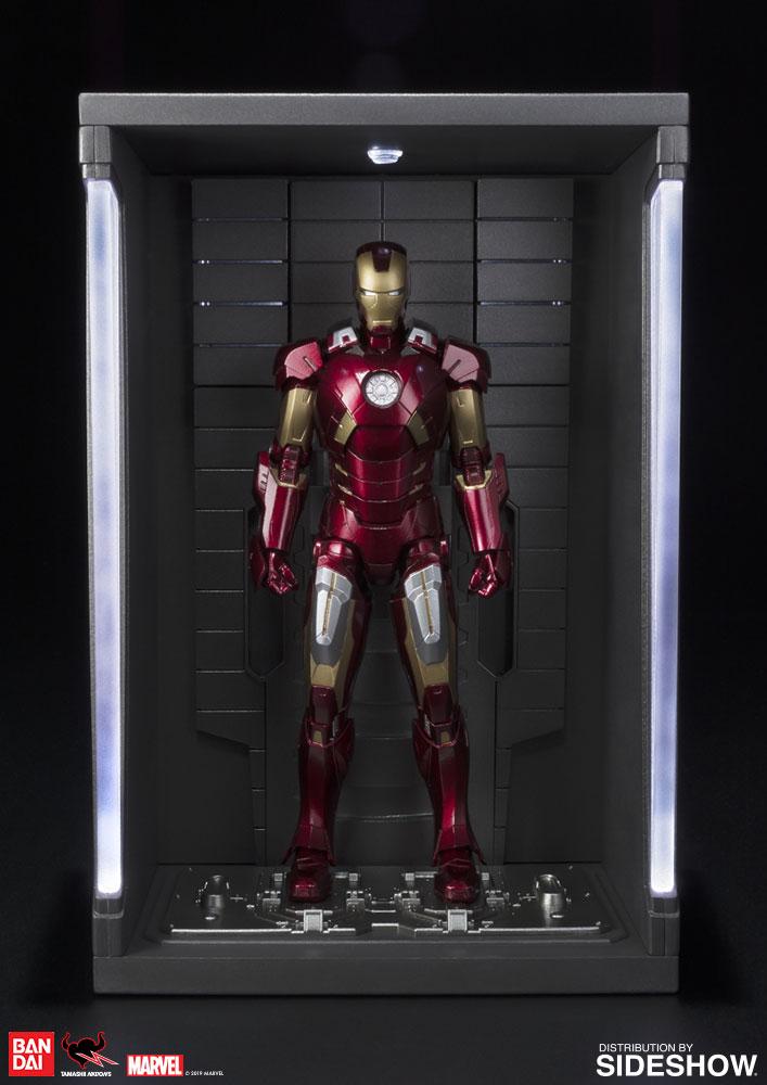 Hall Of Armor Set S Iron Man Mark 5 Mk V SH Figuarts Action Figure BANDAI H