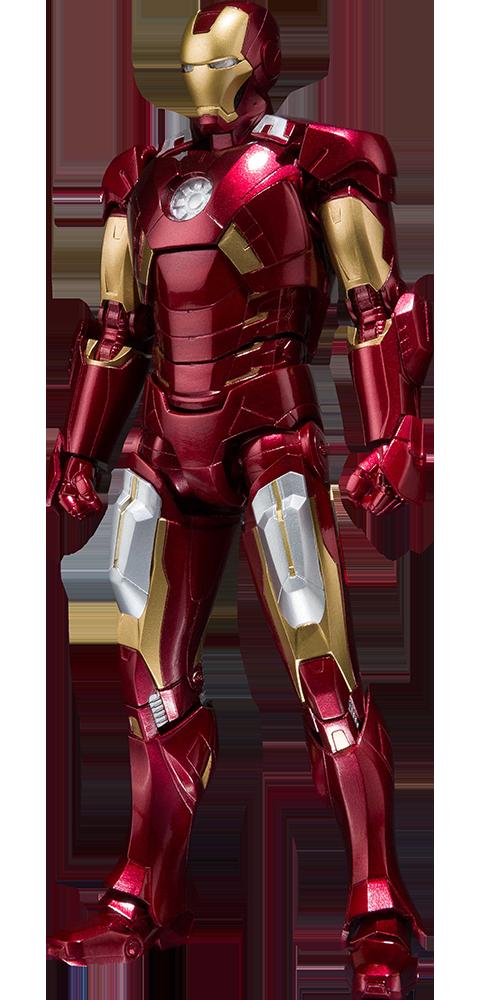 Bandai Iron Man Mark VII and Hall of Armor Collectible Set