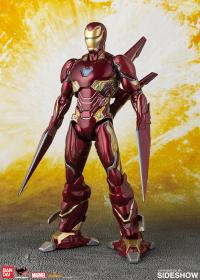 Gallery Image of Iron Man Mark 50 Nano Weapon Collectible Set