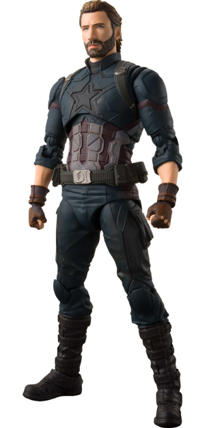 Captain America and Tamashii Effect Explosion Collectible Figure