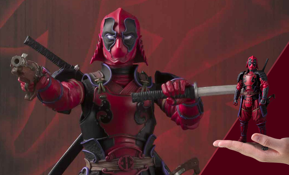 Gallery Feature Image of Deadpool Meisho Manga Realization Collectible Figure - Click to open image gallery