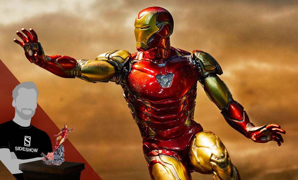 Gallery Feature Image of Iron Man Mark LXXXV 1:10 Scale Statue - Click to open image gallery