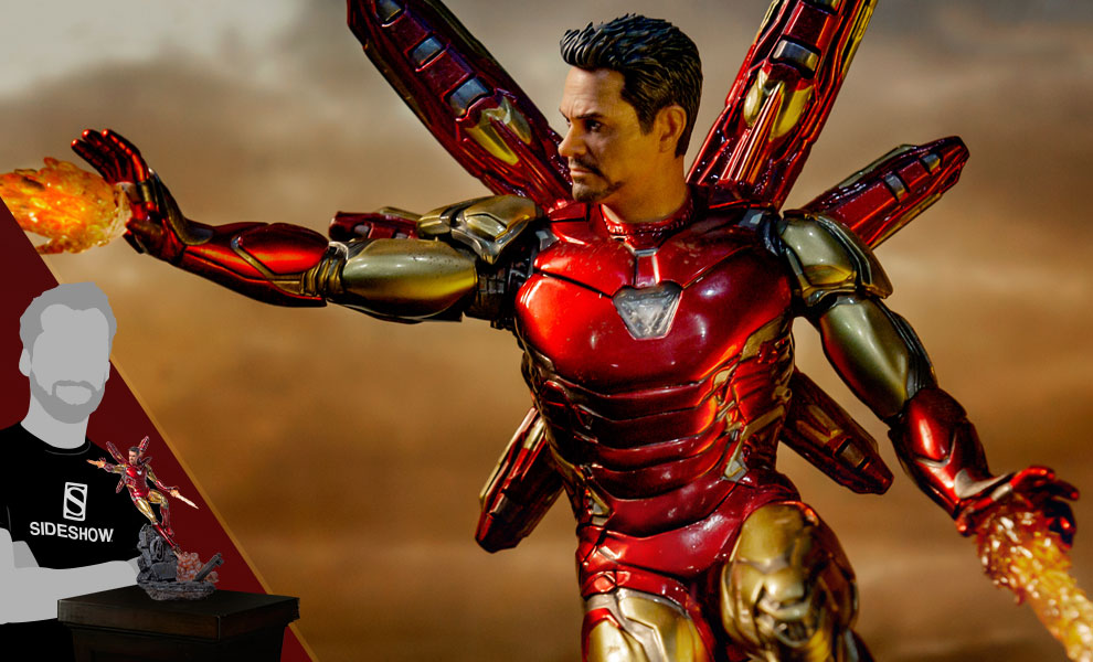Gallery Feature Image of Iron Man Mark LXXXV (Deluxe) 1:10 Scale Statue - Click to open image gallery