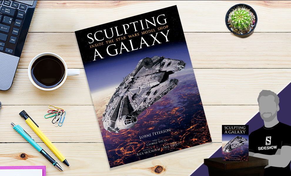 Gallery Feature Image of Sculpting a Galaxy: Inside the Star Wars Model Shop Book - Click to open image gallery