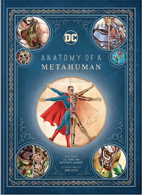 Insight Editions DC Comics: Anatomy of a Metahuman Book