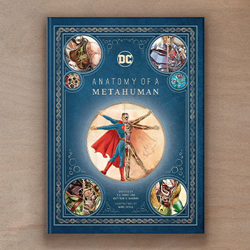 DC Comics: Anatomy of a Metahuman Book