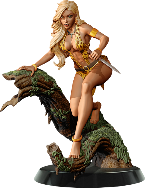 Dynamite Entertainment Sheena Limited Edition Statue