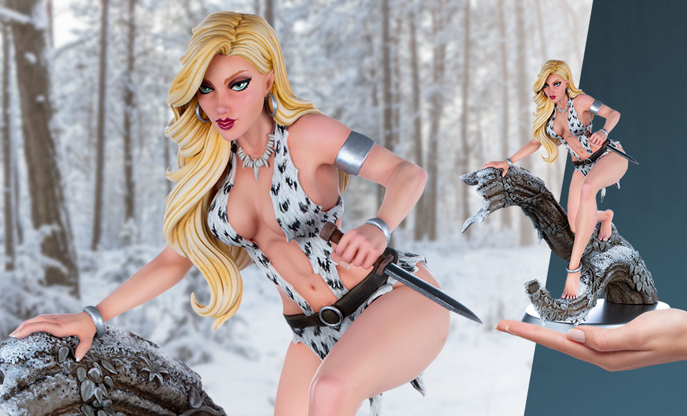 Gallery Feature Image of Sheena (Arctic Variant) Statue - Click to open image gallery