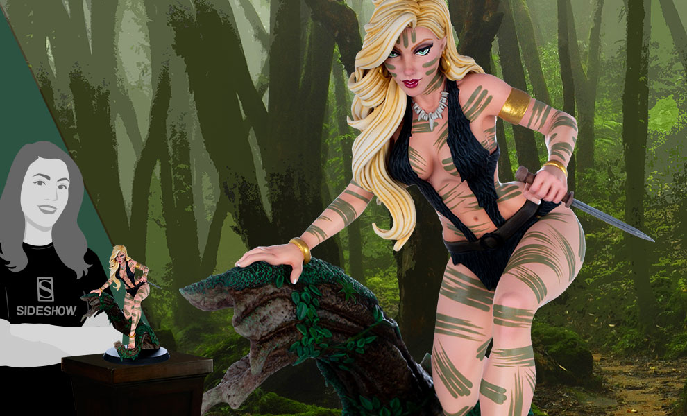 Gallery Feature Image of Sheena 'Night Stalker' Variant Statue - Click to open image gallery