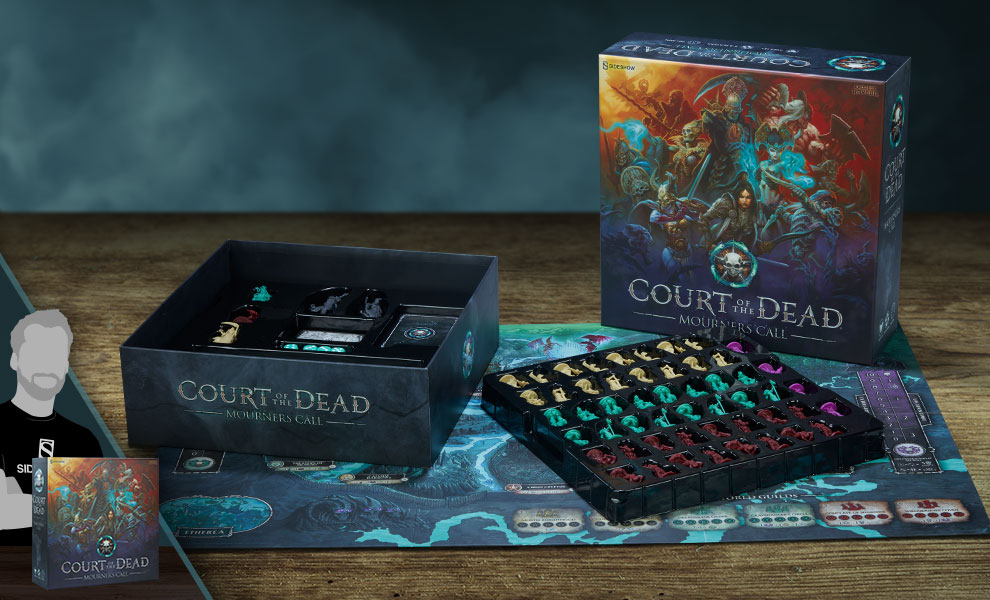 Gallery Feature Image of Court of the Dead Mourner's Call Game Board Game - Click to open image gallery
