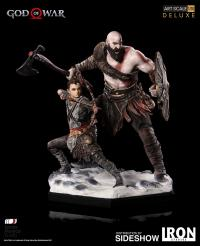 Gallery Image of Kratos & Atreus Deluxe 1:10 Scale Statue