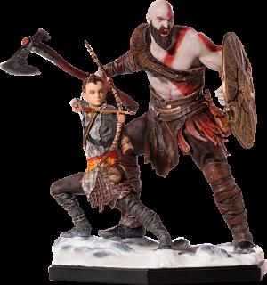 Kratos & Atreus Deluxe Statue