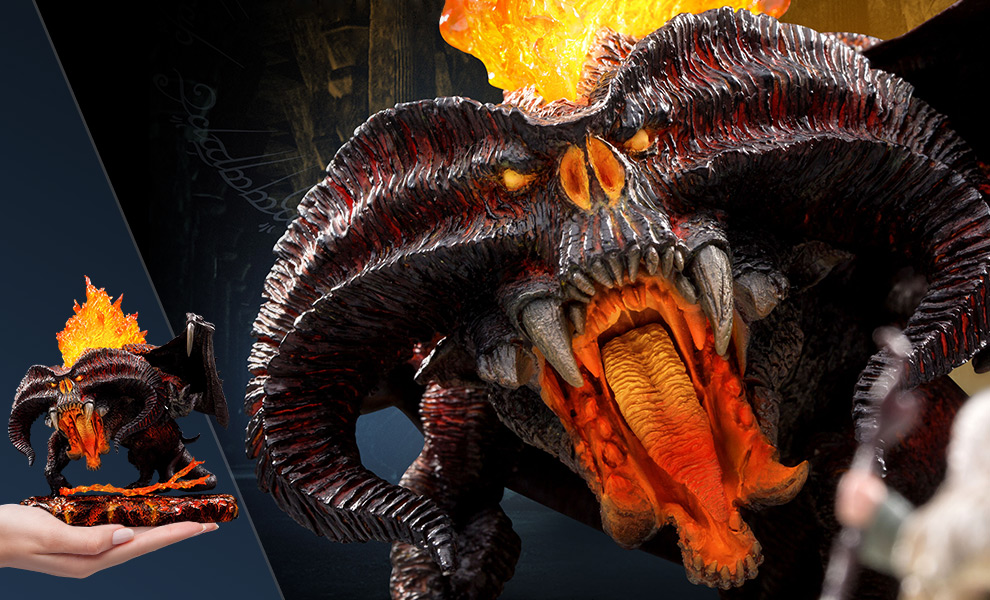 Gallery Feature Image of Balrog (Deluxe Version) Vinyl Collectible - Click to open image gallery