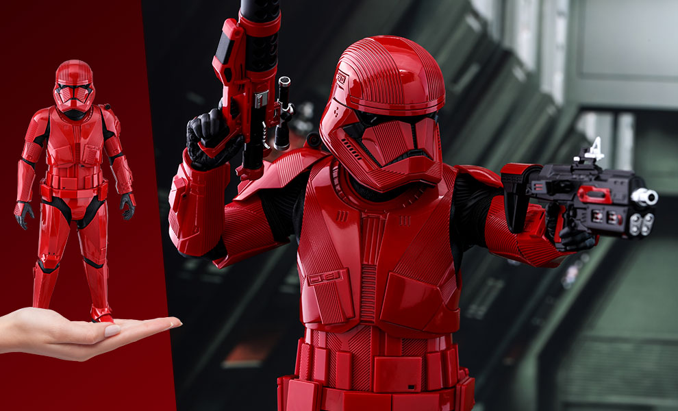 Gallery Feature Image of Sith Trooper Sixth Scale Figure - Click to open image gallery