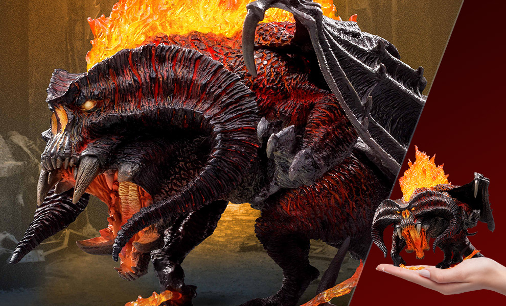 Gallery Feature Image of Balrog Vinyl Collectible - Click to open image gallery