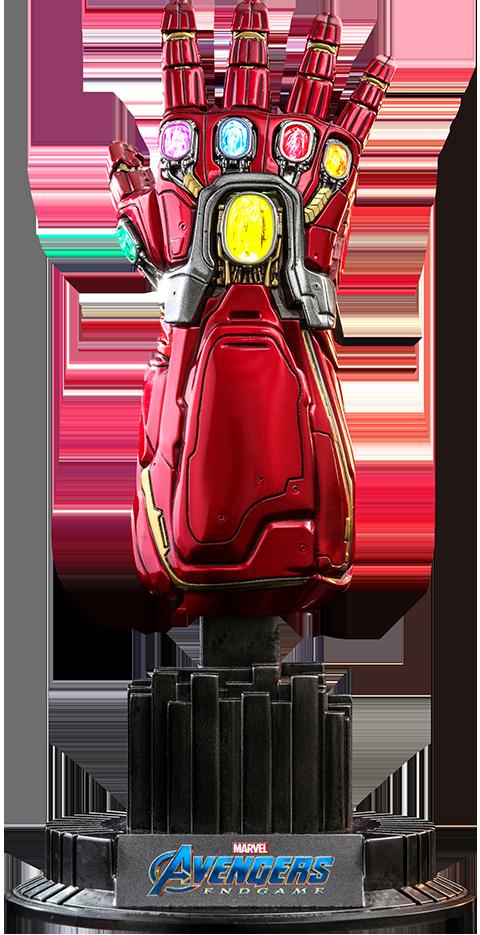 Hot Toys Nano Gauntlet (Movie Promo Edition) Quarter Scale Figure