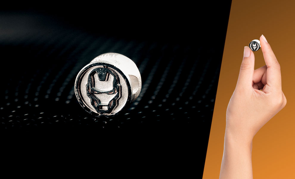 Gallery Feature Image of Iron Man Bead Jewelry - Click to open image gallery